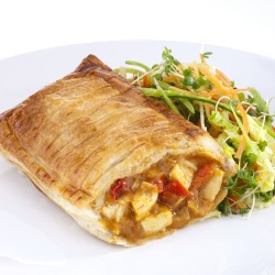 Chicken Curry Pie