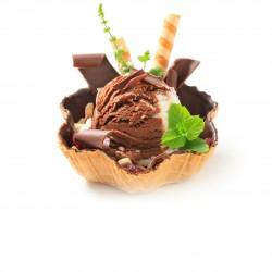 Chocolate Wafer Basket