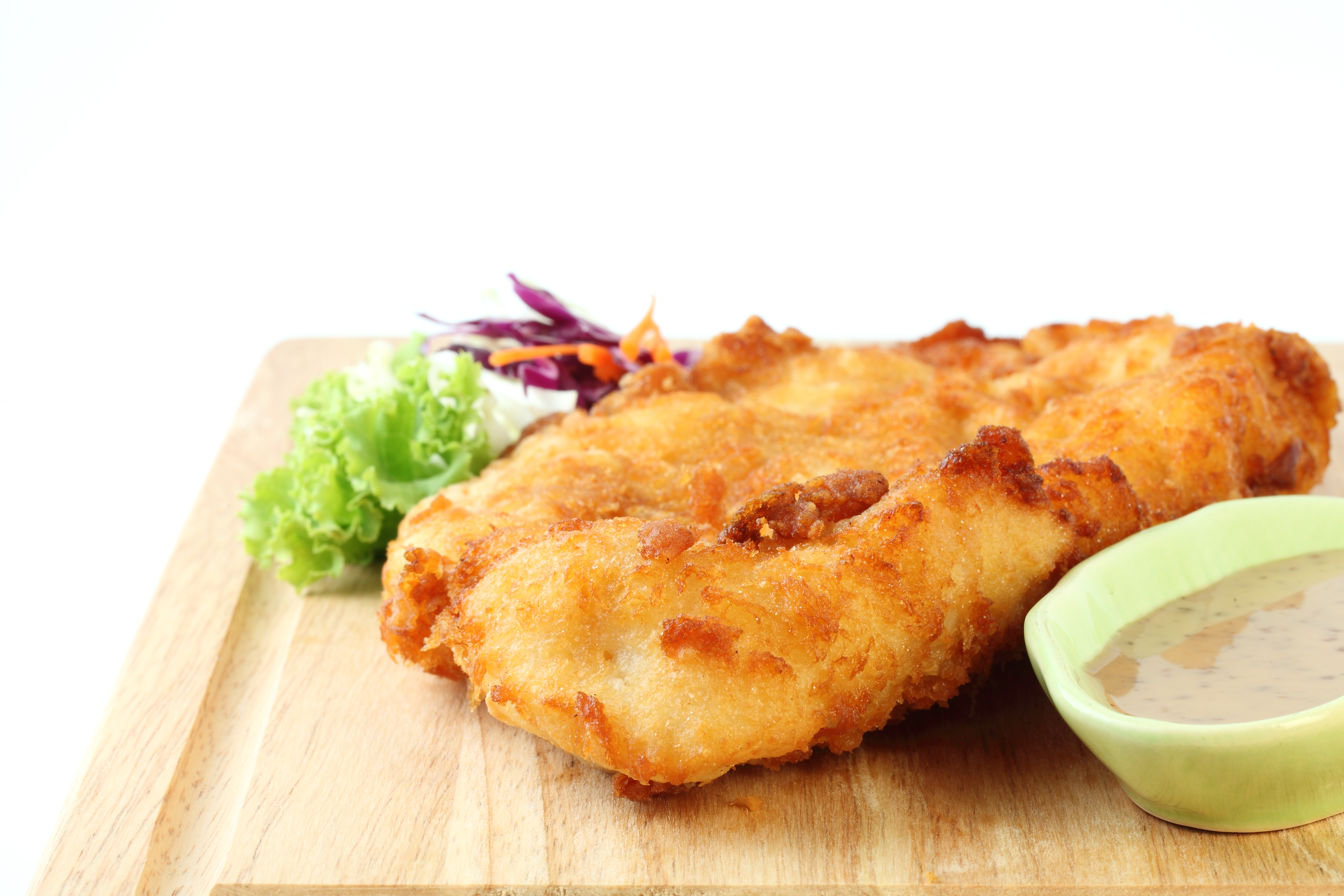 Cod fillets coated cj o louglin for Cod fish fillet