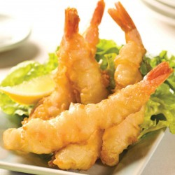 Battered Tempura Prawns